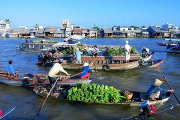 3 Days Downstream Mekong Delta To Saigon From Phnom Penh